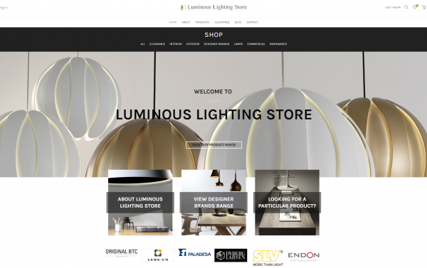 Luminous Lighting Store Pic